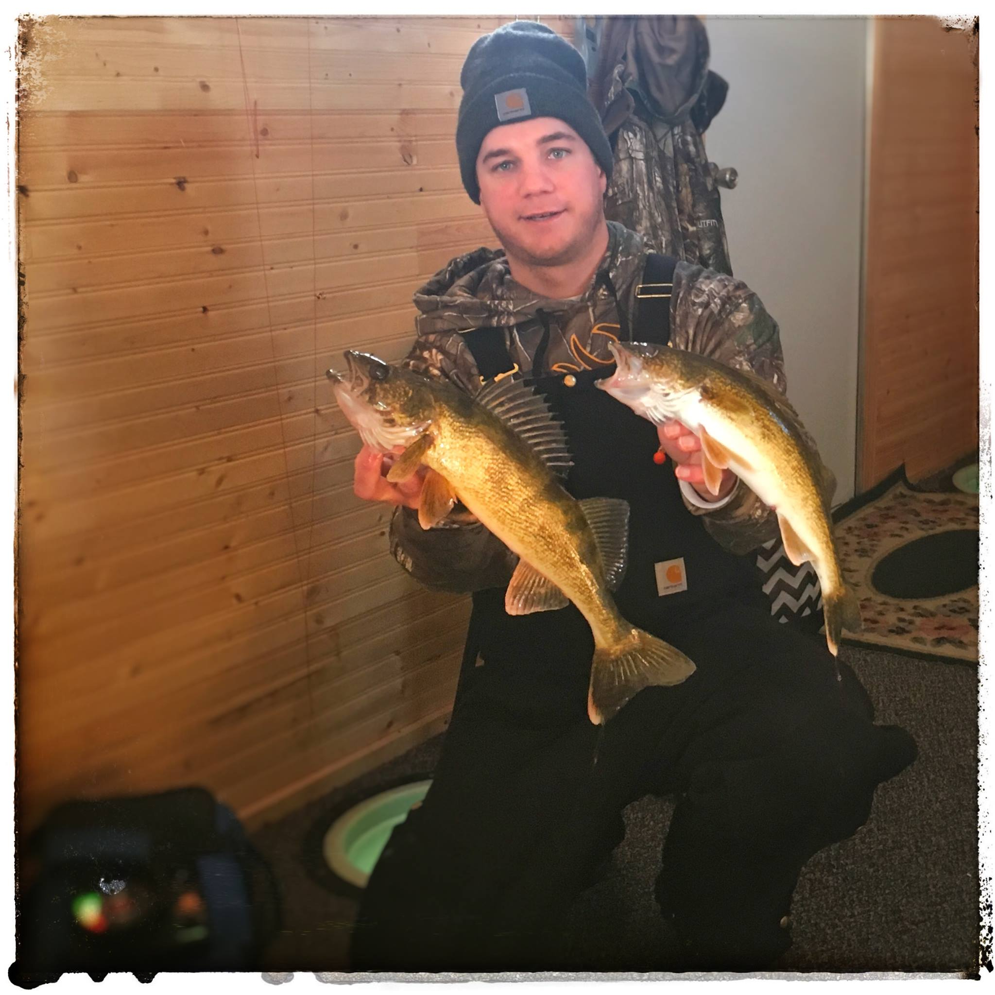 Lake Le Homme Dieu Walleyes